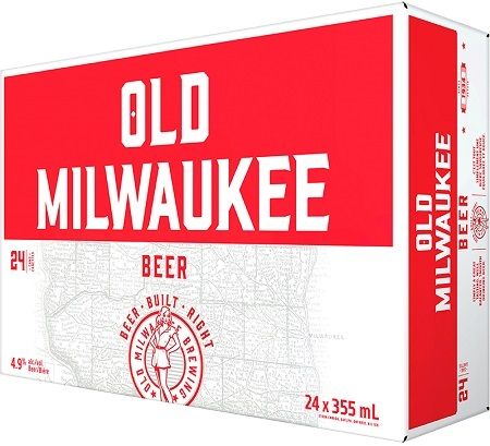 Old Milwaukee Lager - 24Pk can - Save $2.30