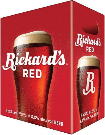 Rickards Red - 6PB - Save $1.90