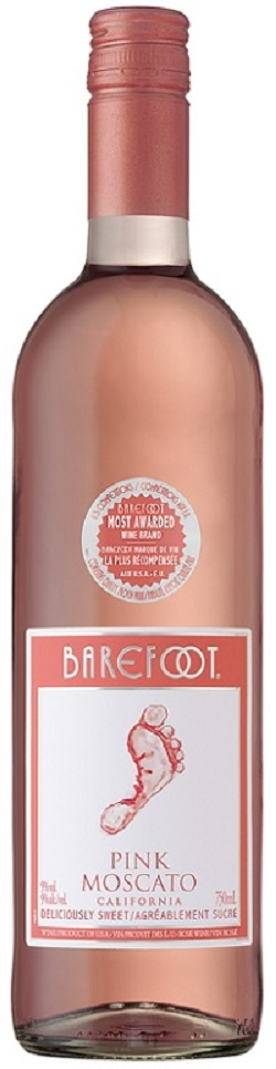Barefoot Wines - Pink Moscato - 750ml - Save $1.00