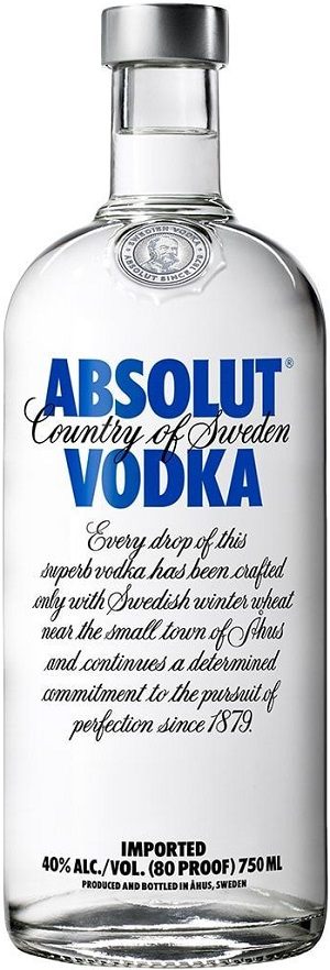 Absolut Vodka - 750ml - Save $2.90