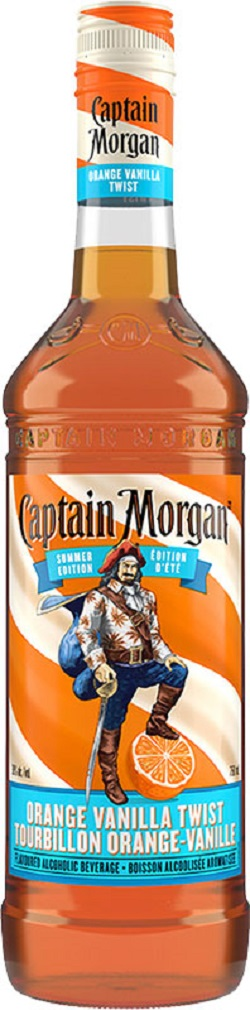 Captain Morgan Rum - Orange Vanilla Twist - 750ml