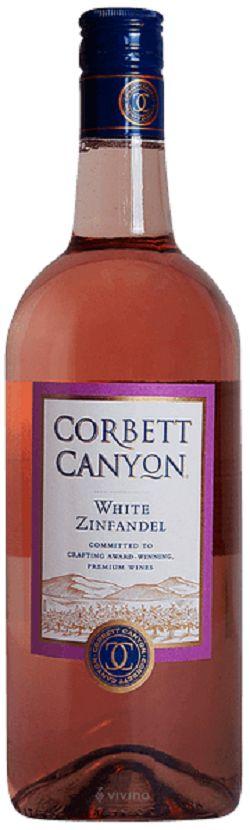 Corbett Canyon Wine - White Zinfandel - 1.5L