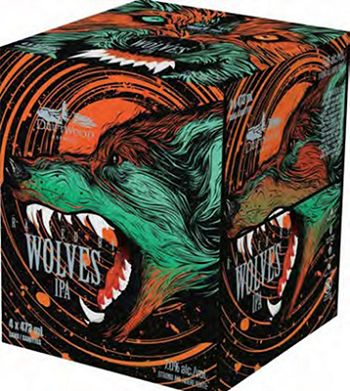 Driftwood Brewing - Raised By Wolves IPA - 4x473ml - Save $1.00
