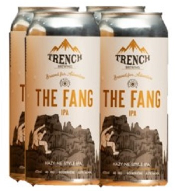 Trench Brewing - The Fang IPA - 4x473ml - Save $1.35