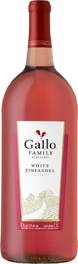 Gallo Family Vineyard - White Zinfandel - 1.5L - Save $1.20