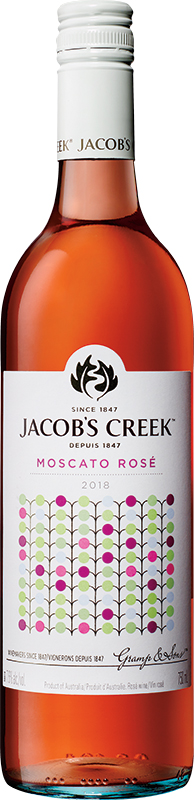 Jacob's Creek Australian Wine - Moscato Rose - 750ml