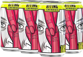 Jaw Drop Vodka Coolers - Biting Cherries - 6Pk can