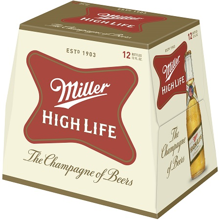 Miller High Life Lager - 12PB - Save $5.00