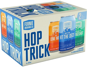 Fernie Brewing - Mixer Sixer - 6Pk can - Save $2.25
