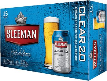 Sleeman Clear 2.0 - 15Pk can