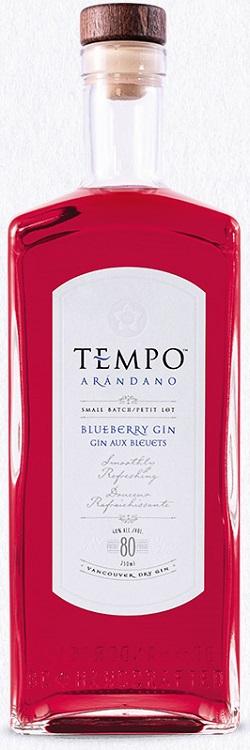 Tempo Artisanal Gin - Blueberry - 750ml