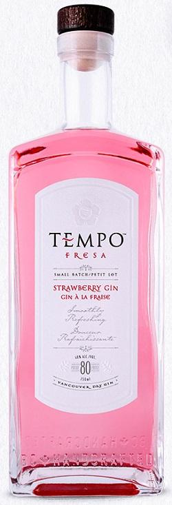Tempo Artisanal Gin - Strawberry - 750ml