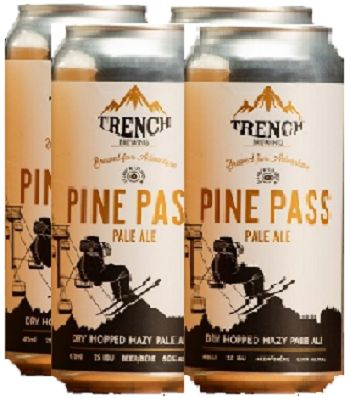 Trench Brewing - Pine Pass Pale Ale - 4x473ml - Save $1.00