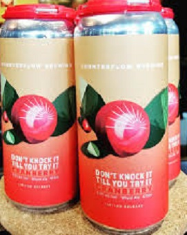 Counterflow Brewing - Cranberry - 4x473ml - Save $1.30