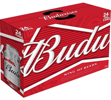 Budweiser Beer - 24Pk can - Save $2.00