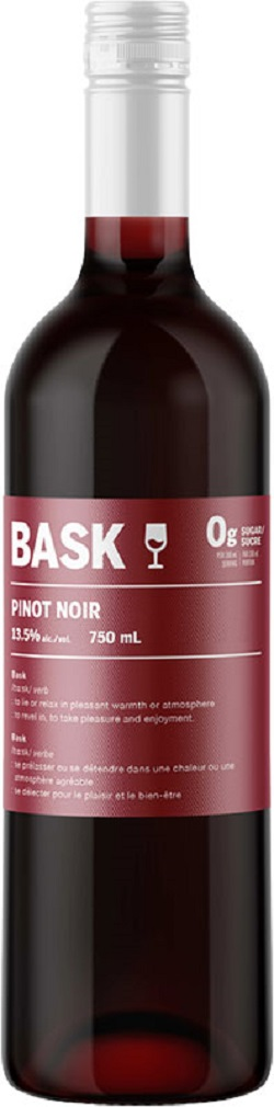 Bask 0Gram Sugar Wines - Pinot Noir - 750ml - Save $2.80