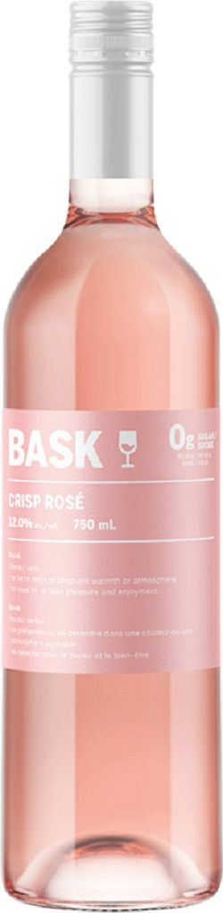 Bask 0Gram Sugar Wines - Rose - 750ml - Save $2.80