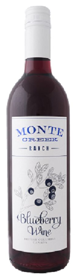 Monte Creek Ranch Winery - Blueberry - 750ml - Save $2.00