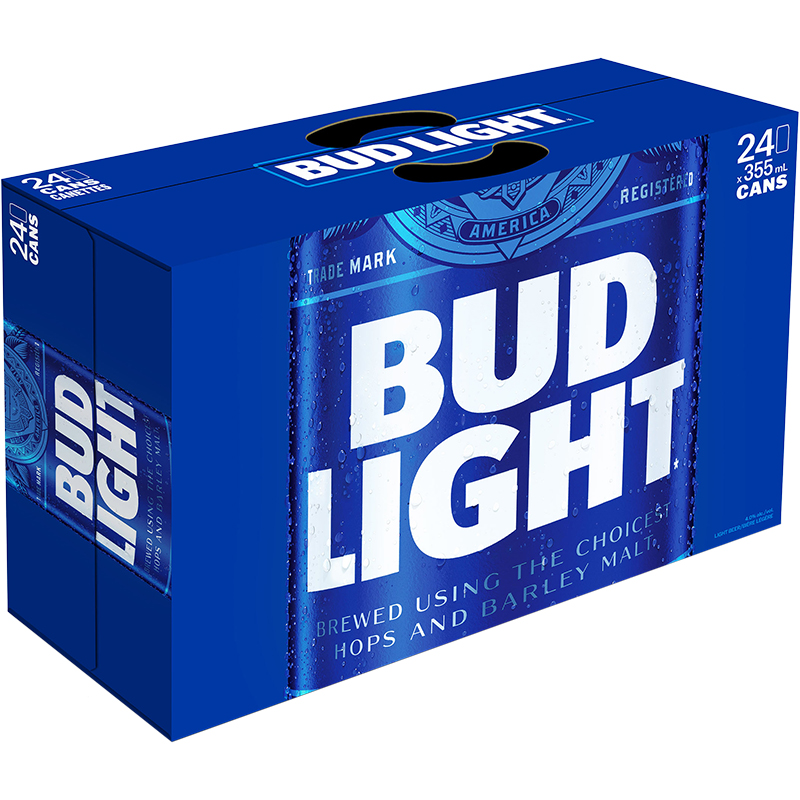 Bud Light Lager - 24Pk can - Save $2.00