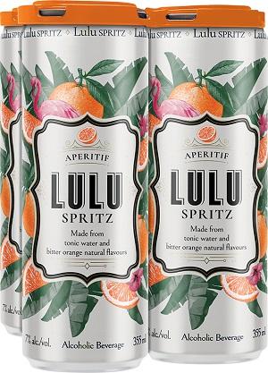 LuLu Pinot Grigio Spritzer - 4Pk can - Save $1.65
