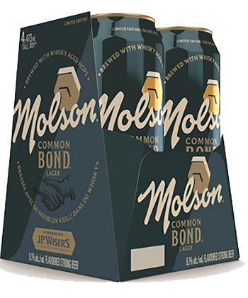 Molson Common Bond Lager - 4x473ml - Save $2.40