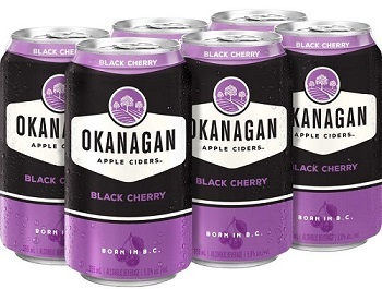 Okanagan Cider - Black Cherry - 6Pk can - Save $2.00