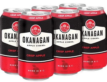 Okanagan Cider - Crisp Apple - 6Pk can - Save $2.00