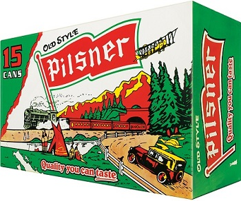 Old Style Pilsner Beer - 15pk can - Save $2.25
