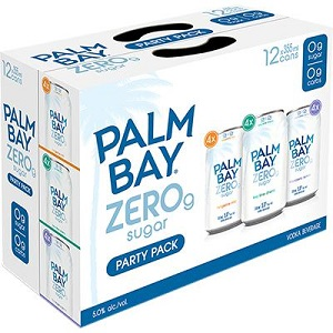 Palm Bay 0G Vodka Soda - Mixer - 12Pk can - Save $5.00