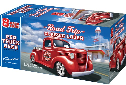 Red Truck Brewing - Lager - 8Pk - Save $1.60