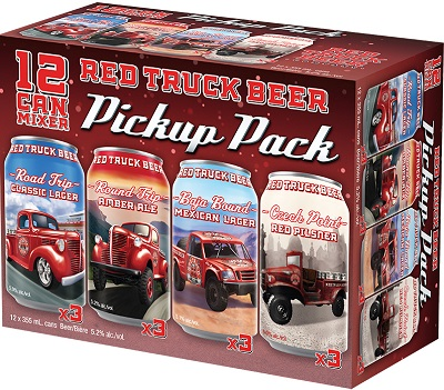 Red Truck Brewing - PickUp Pack - 12Pk can - Save $3.20