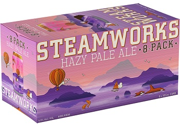 Steamworks Brewing - Hazy Pale Ale - 8x355ml - Save $1.65