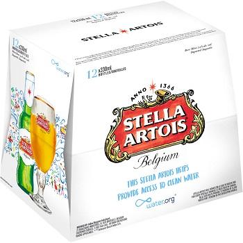 Stella Artois - Belgian Pilsner - 12PB - Save $3.00