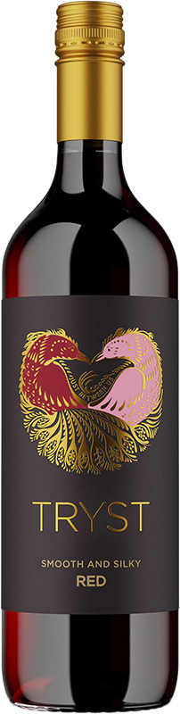 Tryst Wine - Smooth and Silky Red Blend - 750ml - Save $1.60
