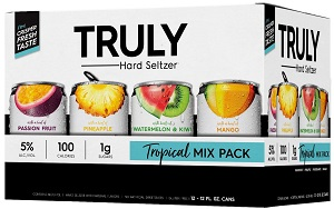 Truly Hard Seltzer - Tropical Mixer - 12Pk can - Save $3.00