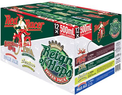 Red Racer Brewing - Reign Of Hops Mixer - 12Pk can