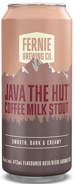 Fernie Brewing - Java The Hut - Coffee Milk Stout- 473ml