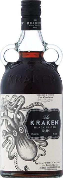 Kraken Rum - Black Spiced Rum - 750ml