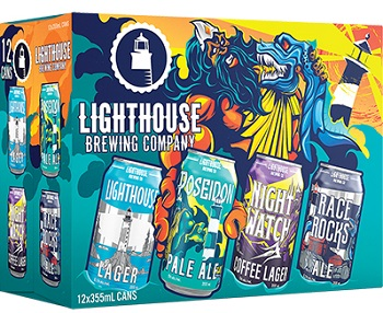 Lighthouse Brewing - Mixer Pack - 12Pk can