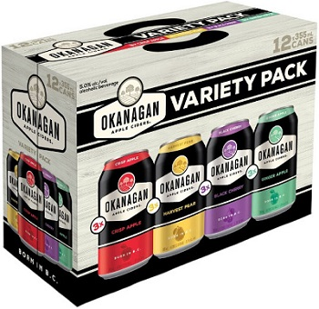 Okanagan Cider - Mixer Pack - 12Pk can