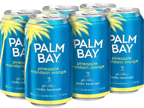 Palm Bay Spritz - Pineapple/Mandarin - 6Pk can
