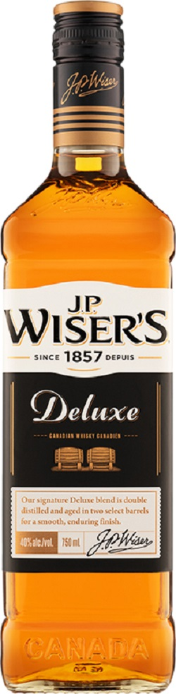 Wiser's Deluxe Canadian Whisky - 750ml - Save $2.90