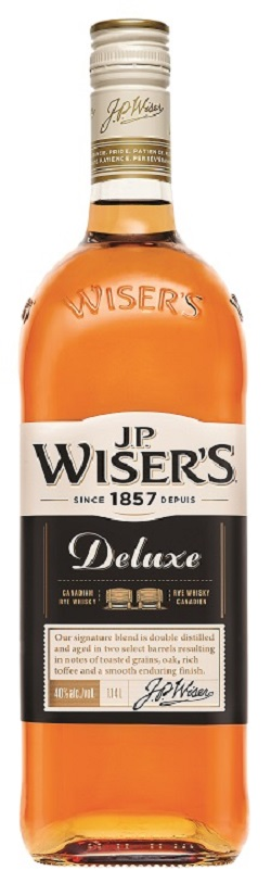 Wiser's Deluxe Canadian Whisky - 1.14L