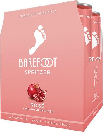 Barefoot Spritzers - Rose - 4Pk