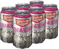Okanagan Springs - Raspebrry Ale - 6Pk can - Save $2.50