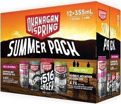 Okanagan Springs - Summer Pack - 12x355ml