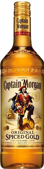 Captain Morgan Spiced Rum - 1.14L - Glass & Plastic