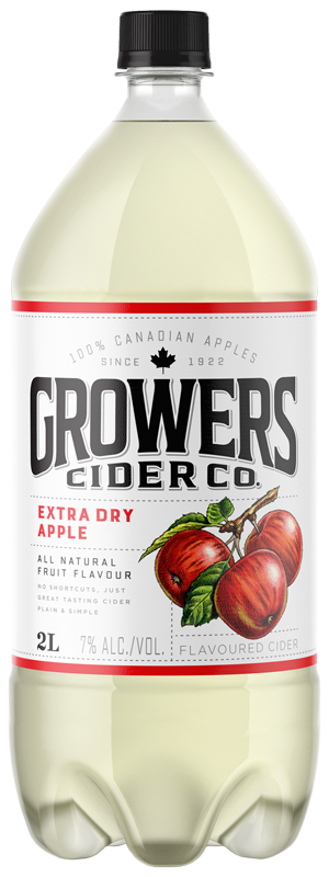 Growers Cider - Extra Dry Apple - 2L