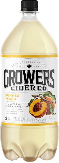 Growers Cider - Summer Peach - 2L
