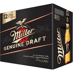 WOW!! Miller Genuine Draft - 12PB - Save $6.00!! WOW DEAL!!